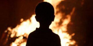 из горящего дома