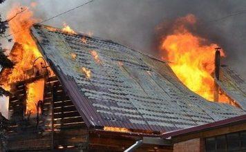 Пожар в Карасуке