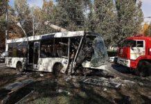 Авария автобуса