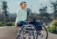 встала с коляски